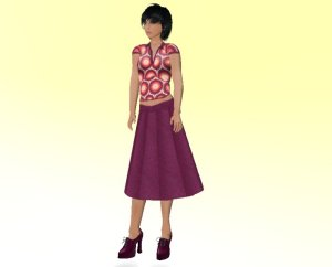 Plum Outfit from Bossa Nova